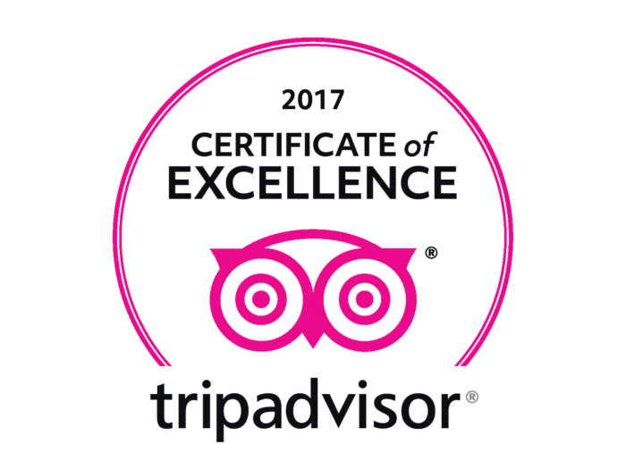 Trip Advisor Certificate of Excellence Pink Logo