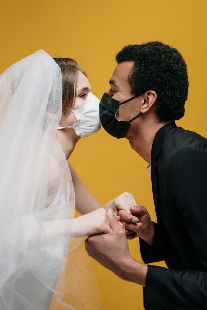 2020 wedding with Covid and Masks