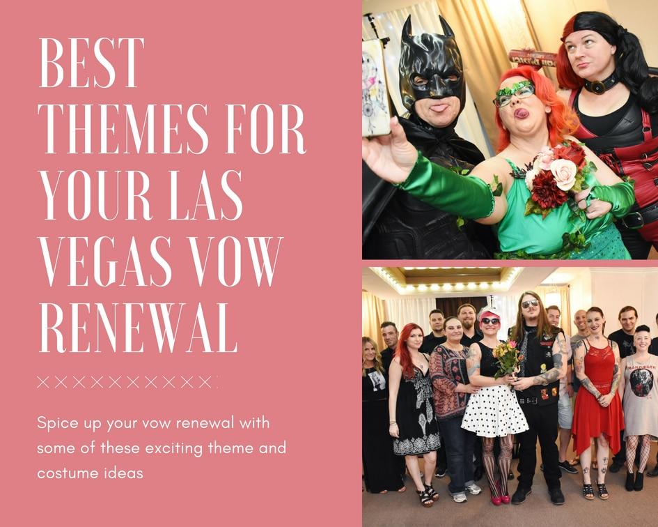 Unique costume ideas for your Las Vegas Vow Renewal
