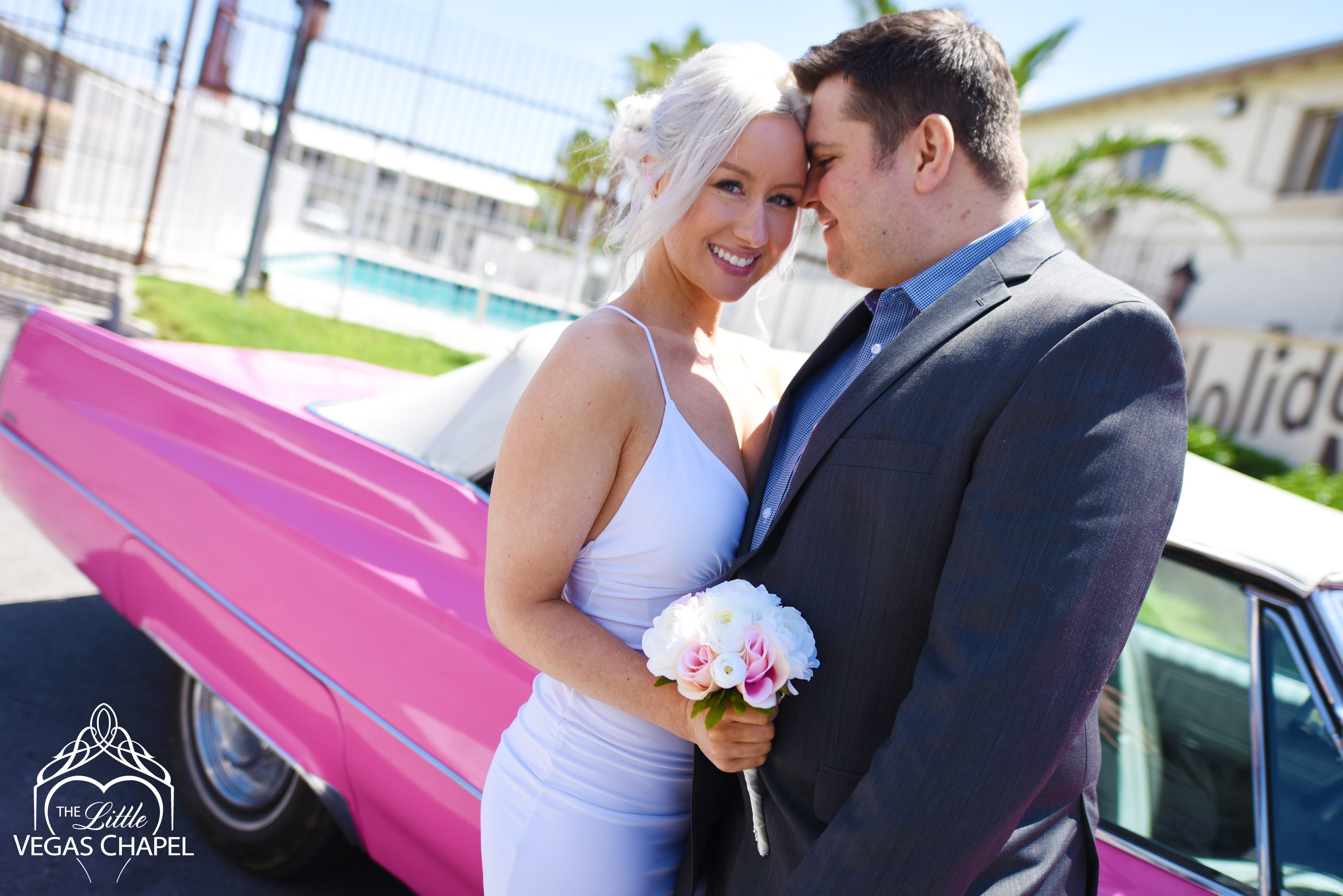 Las Vegas Pink Cadillac Weddings