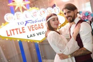 Pretend weddings in Las Vegas