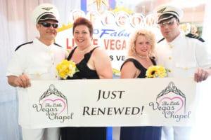 Double Renewal with Elvis in Las Vegas