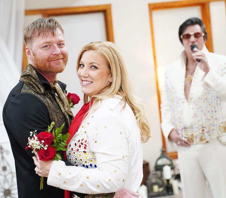 Las Vegas Elvis Wedding Burning Love Package