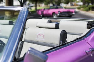 Pink Cadillac Elvis Wedding