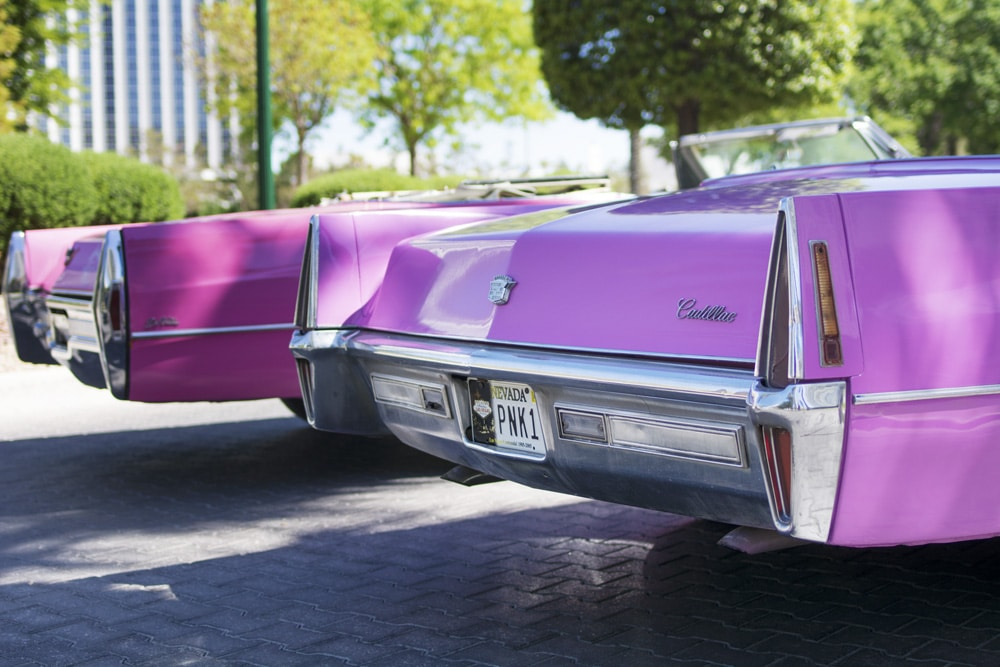Pink Cadillacs of the Elvis Wedding Chapel