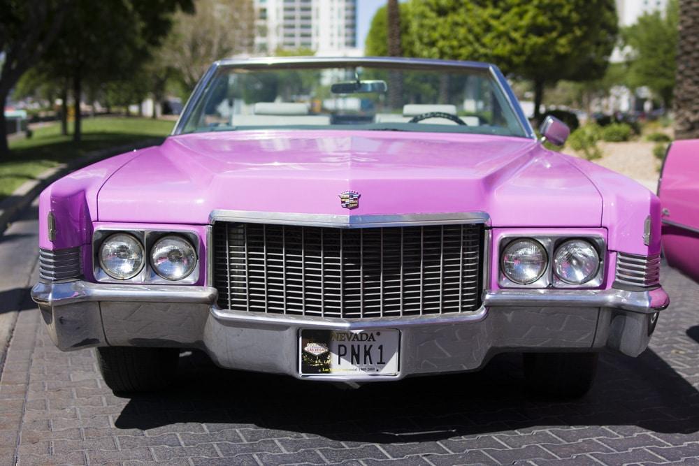 1970 Pink Cadillac Elvis Wedding