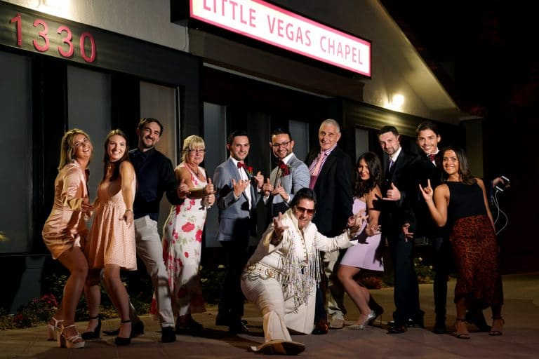 Las Vegas Elvis Wedding Chapel