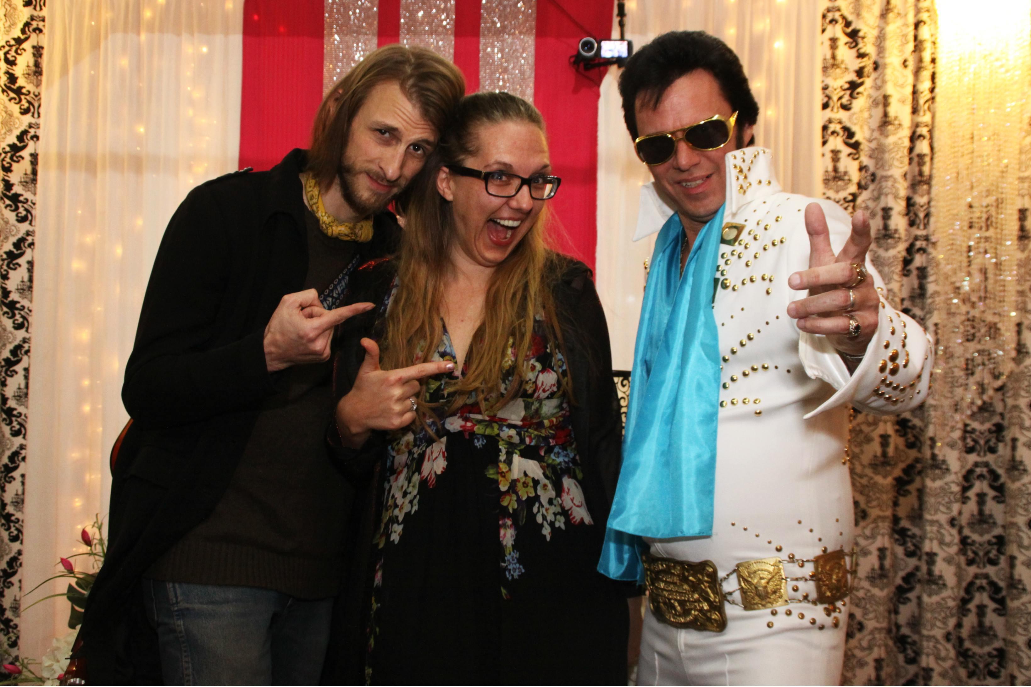 Happy Couple who Love Elvis