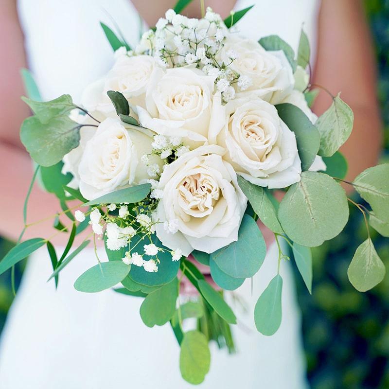 White Flower Bouquet from The Little Vegas Chapel