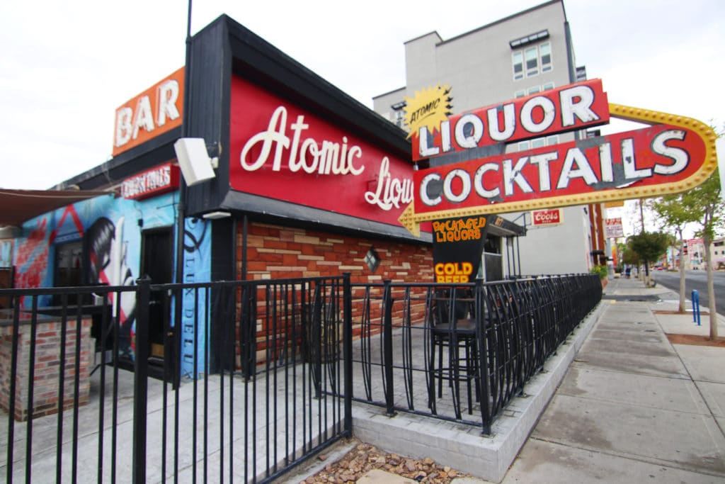Atomic Liquors best bar downtown
