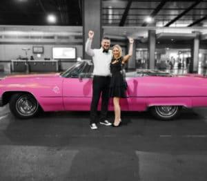 Cadillac Las Vegas >> Las Vegas Pink Cadillac Wedding The Little Vegas Chapel