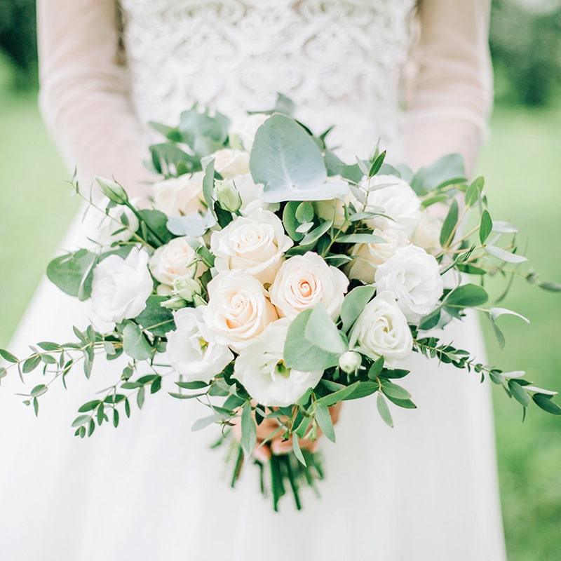 Garden Bouquet and Boutonniere
