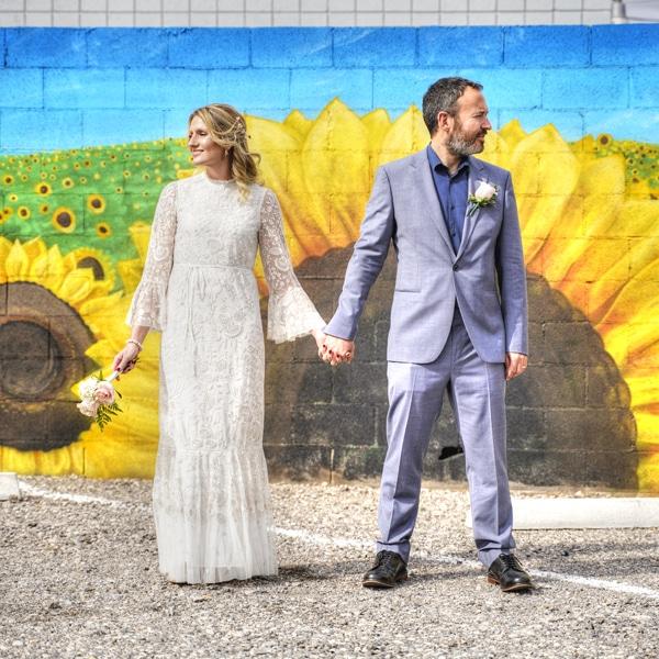 Mural wedding