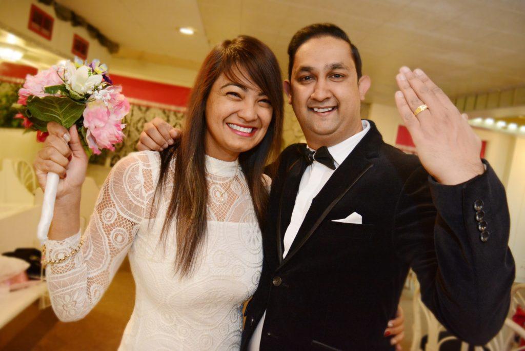 Love is Forever Las Vegas Wedding Chapel Couple