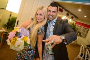Little Vegas Chapel Vow Renewal Newlyweds