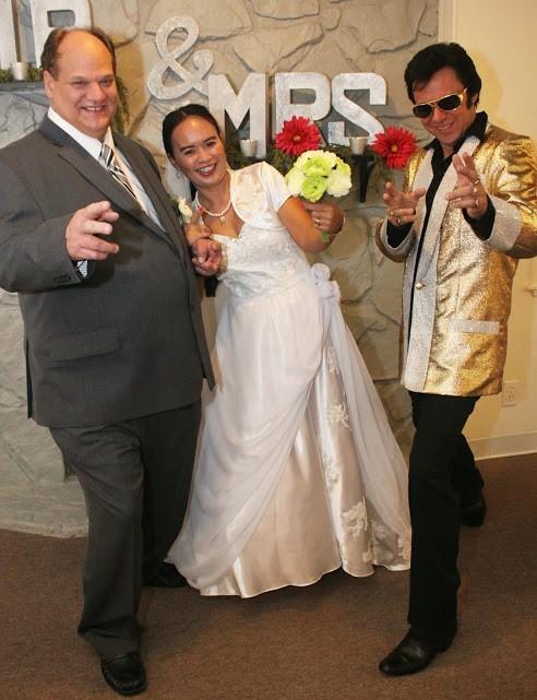 Wedding with Elvis