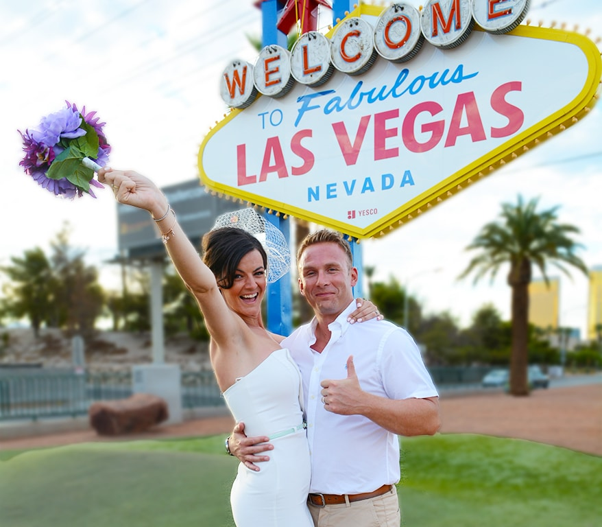 Neon Light Wedding Las Vegas