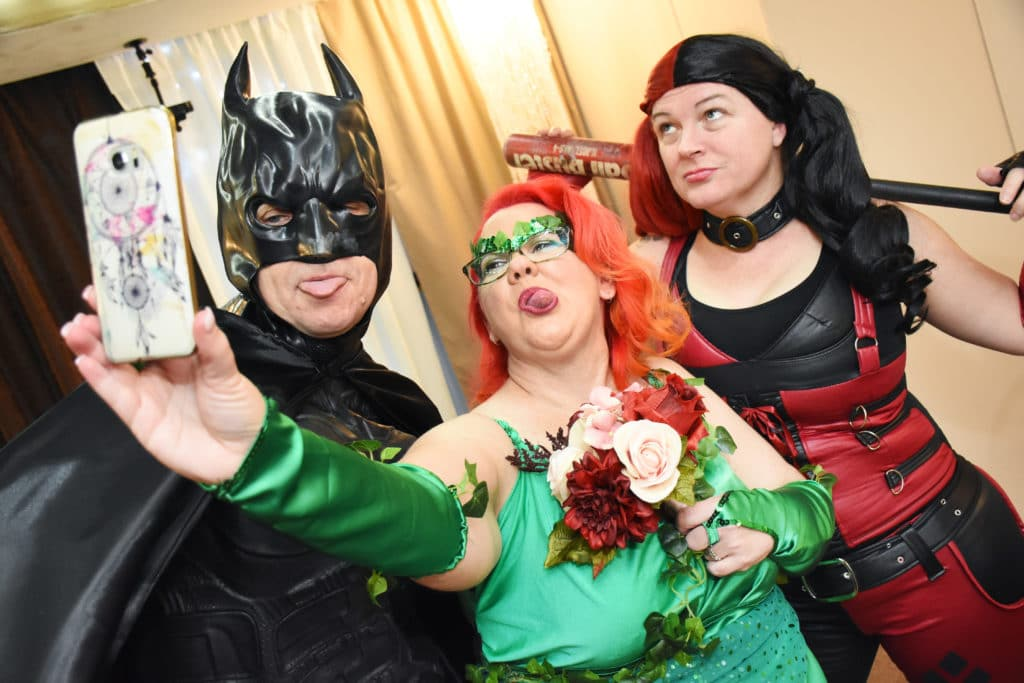 Comic book theme for Vow Renewal
