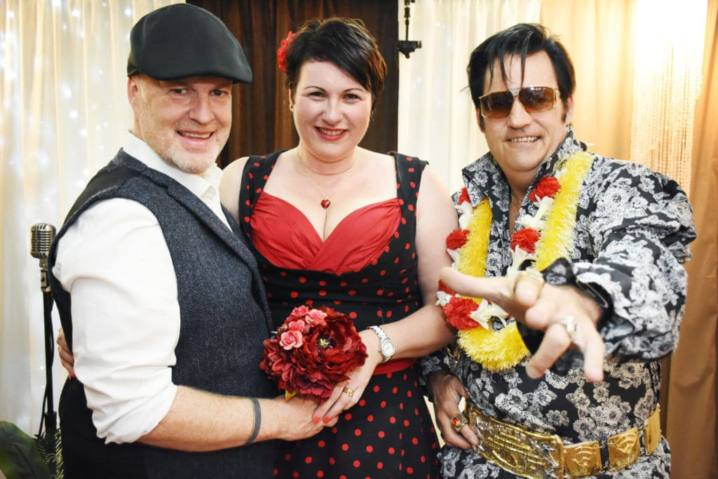 Rockabilly theme for Vegas Vow Renewal