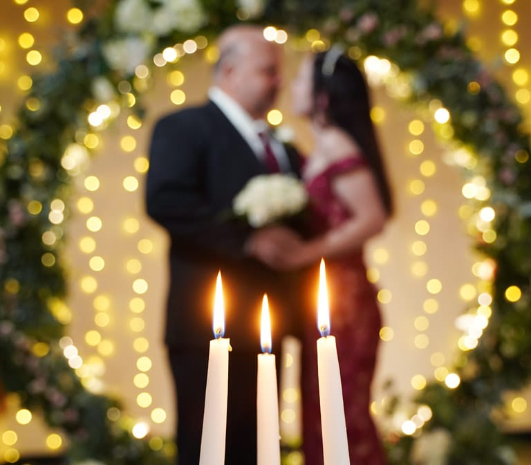 Unity Candle Wedding Ceremony