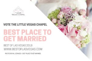 The Little Vegas Chapel Best Place to Get Married