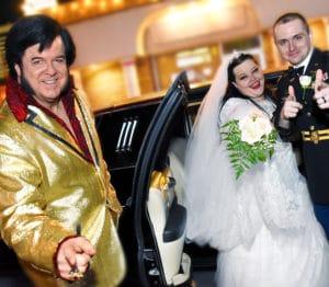 Viva Las Vegas Elvis Wedding
