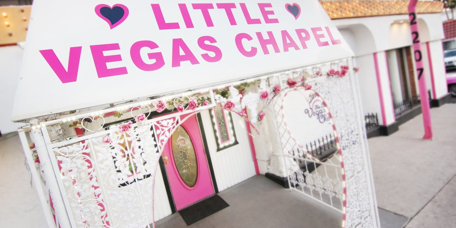 Las Vegas Best Wedding Chapel on the Strip