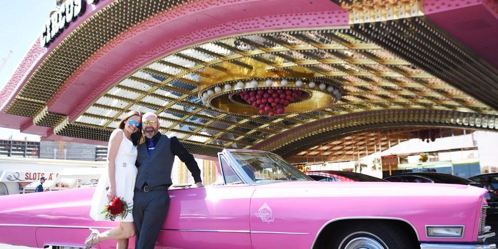 Las Vegas Pink Cadillac Wedding