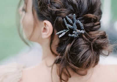 Elegant Updos Spring Wedding Hairstyle Trend