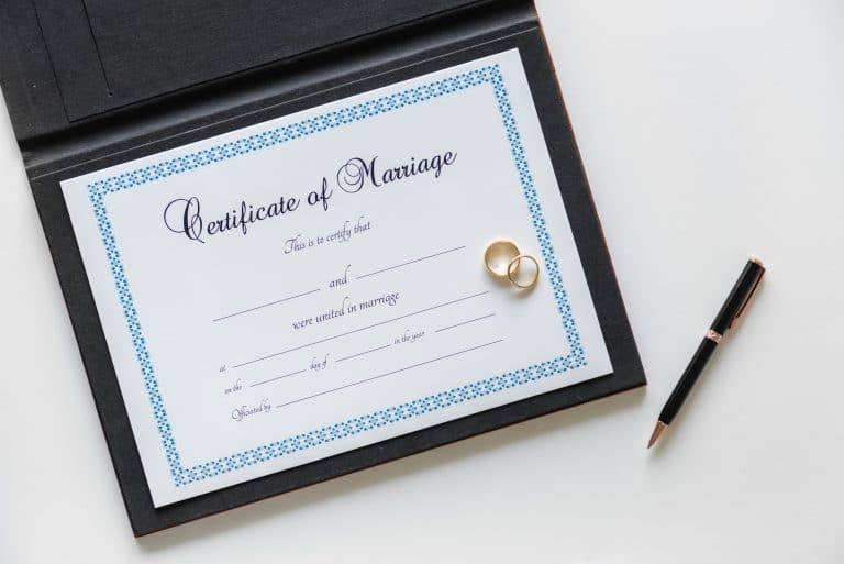 Las Vegas Marriage License
