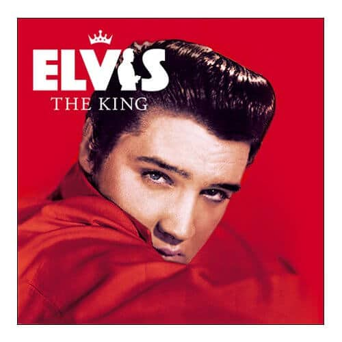 Elvis The King Album Cover