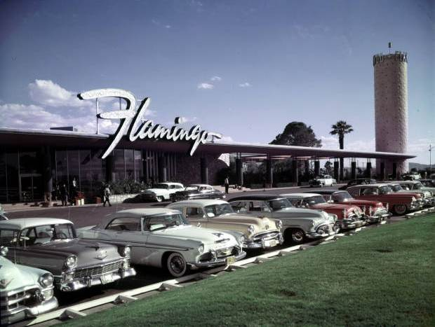 The Flamingo Las Vegas old vintage photo
