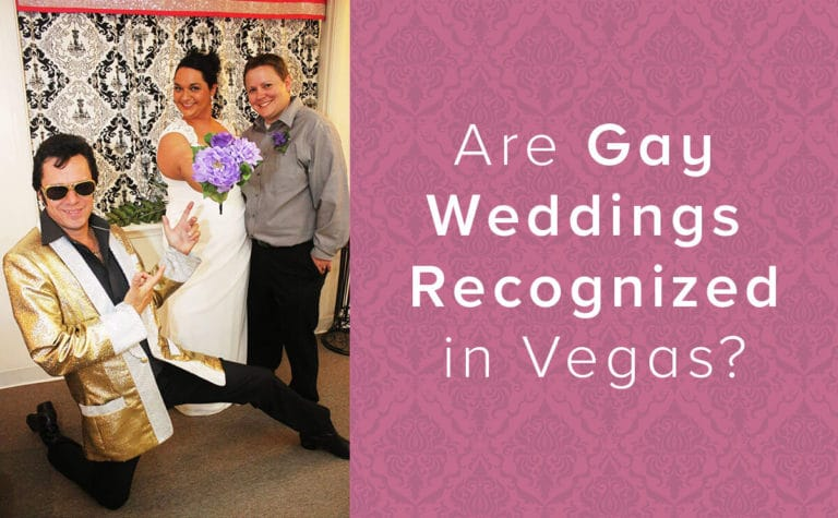 Gay Marriage Recognized in Vegas