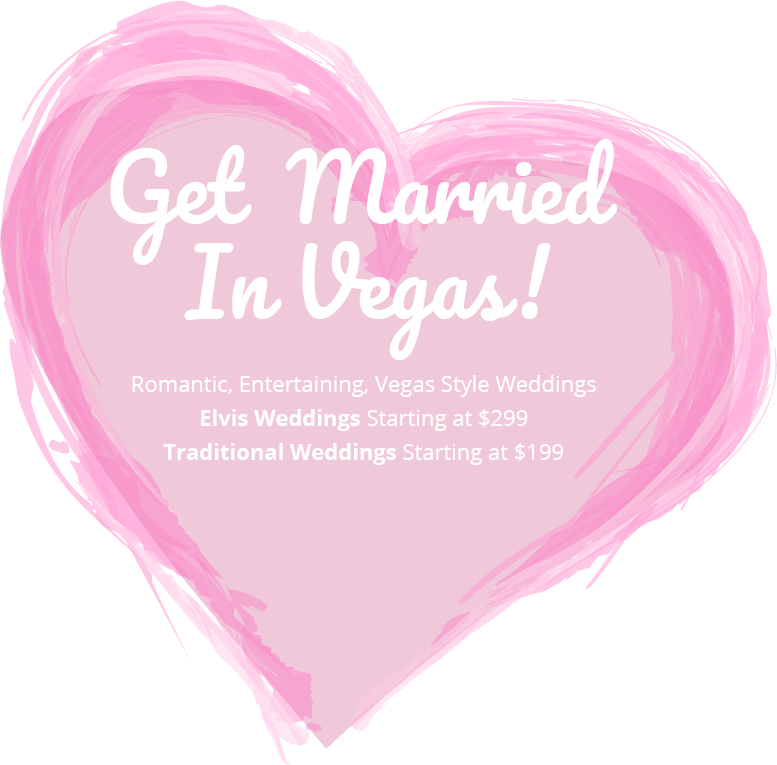 Get Married In Vegas Heart