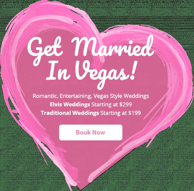 Get Married Vegas Heart