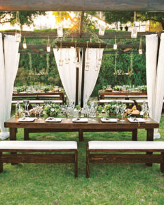 Hanging Floral Summer Wedding Trend
