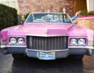 Pink Cadillac Wedding