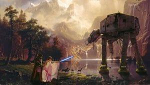 Star Wars wedding at the Little Vegas Chapel