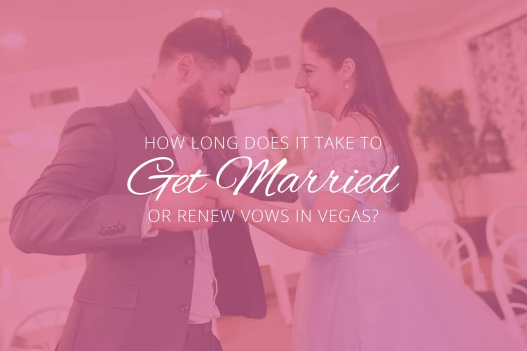 Wedding Ceremony in Vegas