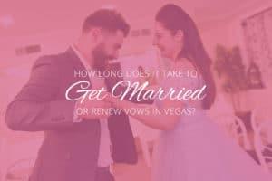 Wedding Ceremony in Vegas